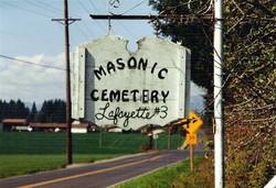 Masonic Cemetery Lafayette #3