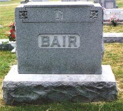 Cora M <I>Baker</I> Bair