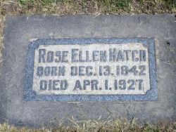 Rose Ellen <I>King</I> Hatch