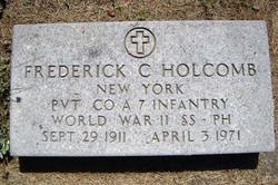 Frederick Charles Holcomb