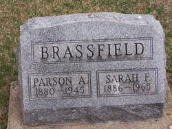 Sarah Frances <I>Hoselton</I> Brassfield
