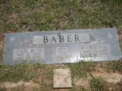 Rev Aubrey Linwood Baber
