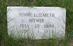 Minnie Elizabeth Brewer