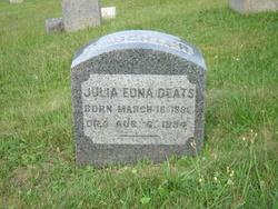 Julia Edna Deats