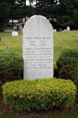 Amos Parker Wilder