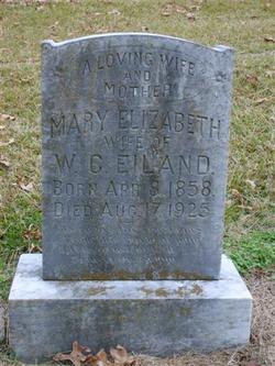 Mary Elizabeth <I>Childers</I> Eiland