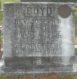 Mary Louise <I>Bennett</I> Boyd