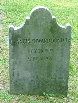 Francis Edward Bond, Jr