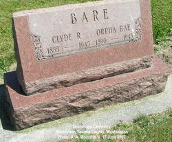 Orpha Rae <I>Jacobs</I> Bare