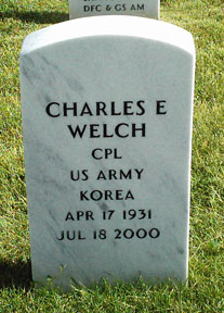 Corp Charles E. Welch