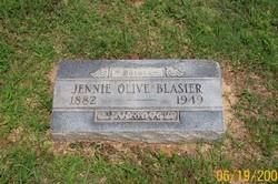 Jennie Olive Blasier