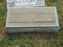 Eleanor Beyersdoerfer