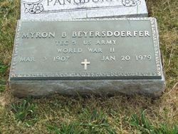 Myron B. Beyersdoerfer
