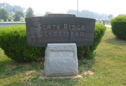 Slate Ridge Cemetery