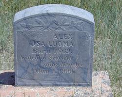"""Aleksanteri """" Alex"""" Luoma"""