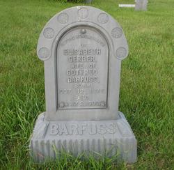 Elisabeth <I>Gerber</I> Barfuss