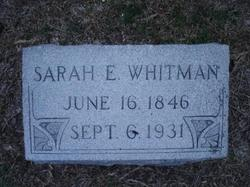 Sarah Jane <I>Eustis</I> Whitman