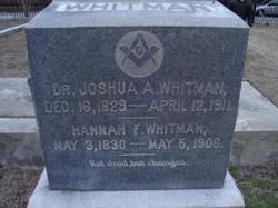 Dr Joshua A. Whitman