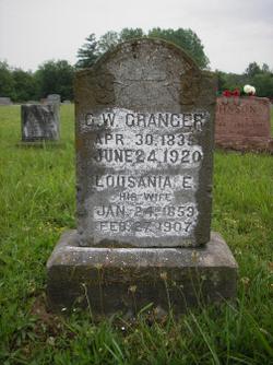 Lousania Elizabeth <I>Wilson</I> Granger