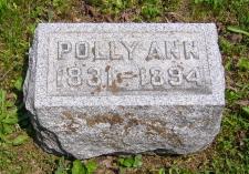 Polly Ann <I>Witter</I> Loveland