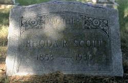 Rhoda Rebecca <I>Hughes</I> Scott