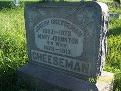 Mary <I>Johnston</I> Cheeseman