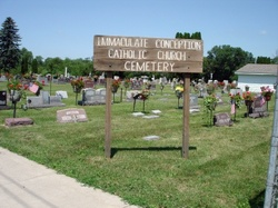 Immaculate Conception Catholic Church Cemetery