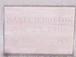 Mabel B. Hutton