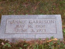 Nannie <I>Messer</I> Garrison