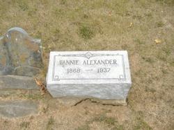 Fannie Alexander