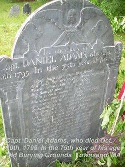 Capt Daniel Adams