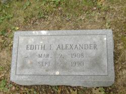 Edith F. Alexander