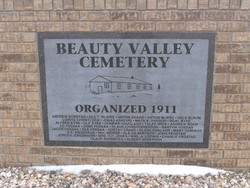 Beauty Valley Cemetery