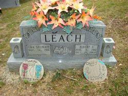 Ura Pauline <I>Shumate</I> Leach
