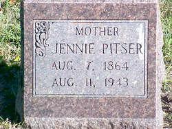 """Elizabeth Jane """"Jennie"""" <I>Stone</I> Pitser"""