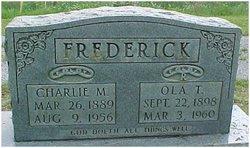 Ola T <I>Trosper</I> Frederick