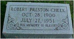 Robert Preston Cheek