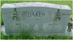Pauline <I>Asher</I> Baker