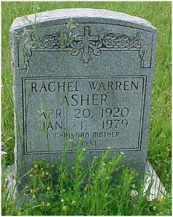 Rachel Warren <I>Mills</I> Asher