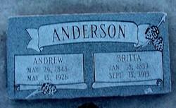 Britta <I>Danielson</I> Anderson