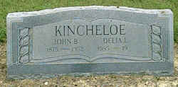 "Delilah ""Delia or Lila"" <I>Lee</I> Kincheloe"