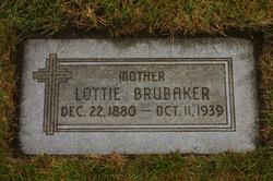 """Charlotte """"Lottie"""" <I>Pratt</I> Brubaker"""