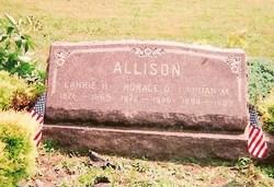 Carrie Hulda <I>Young</I> Allison