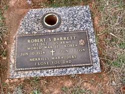 1SGT Robert Sidney Barrett