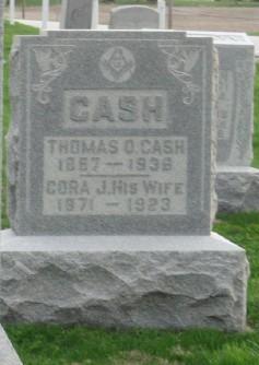 Cora J <I>Campbell</I> Cash