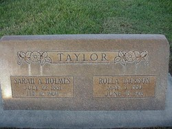 Rolla Jackson Taylor