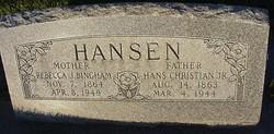 Rebecca Jane <I>Bingham</I> Hansen