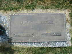 Betty Jane <I>Hedrick</I> Benak