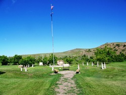 Plenty Coups State Park Cemetery