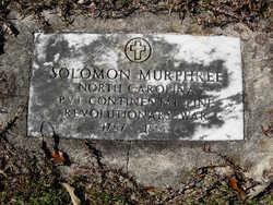 PVT Solomon Murphree, Sr